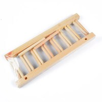Kitchen Wooden Plate Cup Drainer Cutlery Dish Drying Rack ...