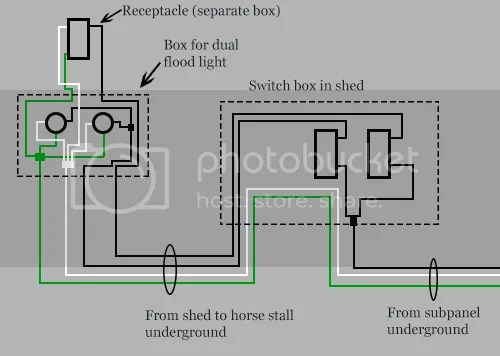 Shed Wiring Plans And Diagram. Will This Work