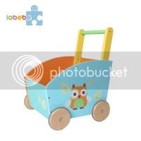 Baby Lauflernhilfe Lauflernwagen Laufwagen Holz