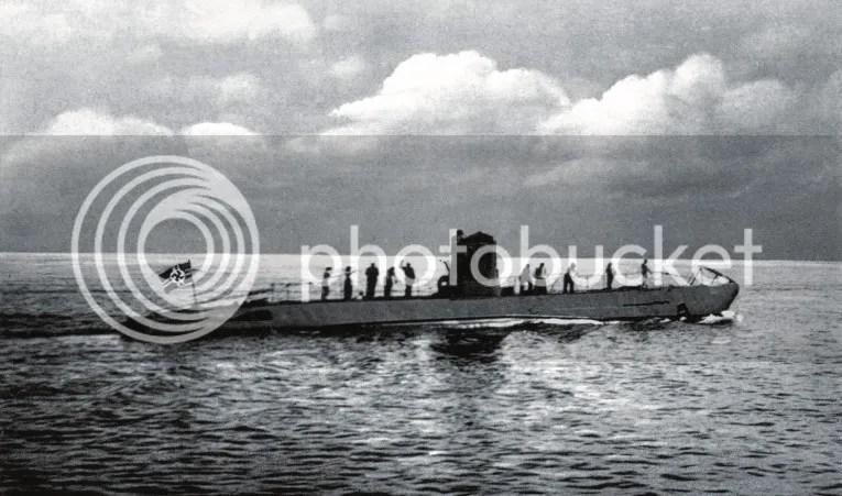 Un submarino Aleman de la Segunda Guerra mundial