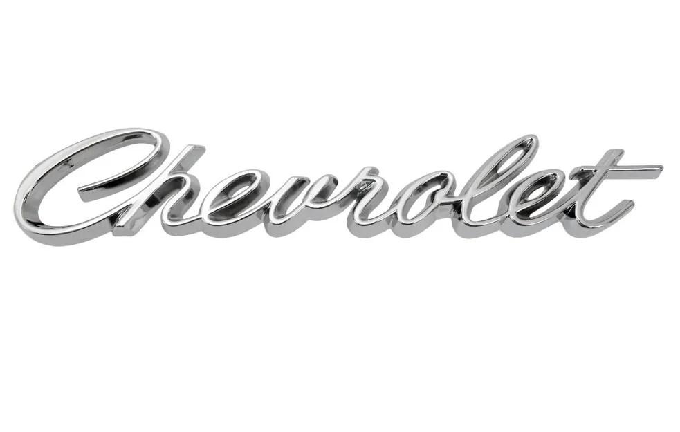 68 69 Chevrolet El Camino Chrome Rear Tailgate Emblem