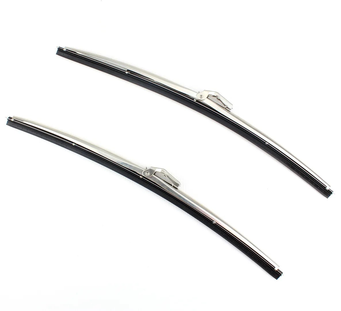 15 Stainless Steel Front Windshield Wiper Blades Bayonet