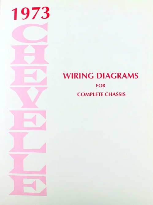 small resolution of 73 chevelle el camino electrical wiring diagram manual