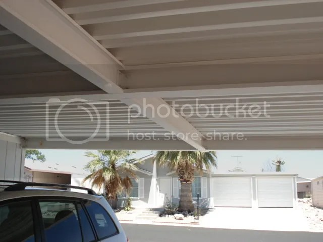 Enclosing Carport Attached To Manufactured Home