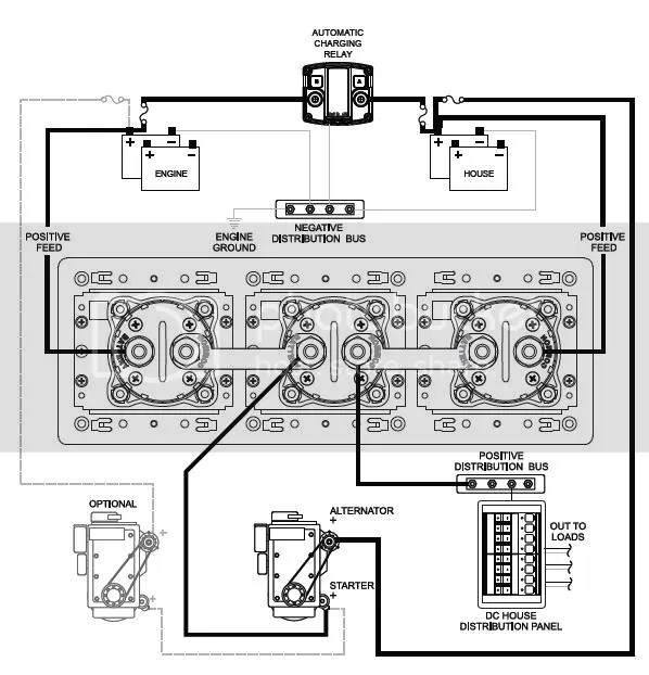 Blue Sea Dual Battery Switch Wiring Diagram : 43 Wiring
