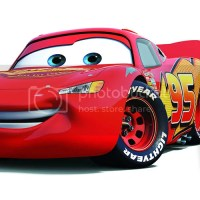 CARS 2 FILM RACECAR 'LIGHTNING MCQUEEN' CHARACTER PRINT 16
