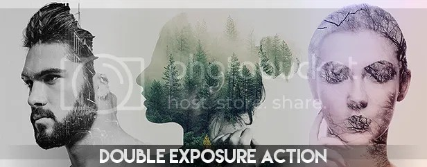 Double Exposure Photoshop Action - 54