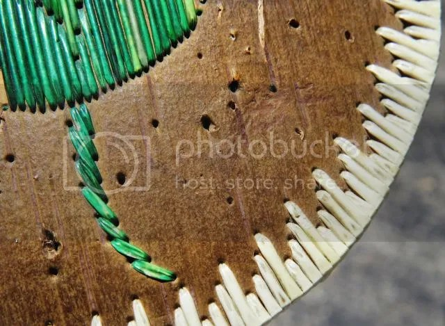 Porcupine Quill Decorated Box - Detail photo PorcupineQuillBasketDetail_zpsd77a4e20.jpg