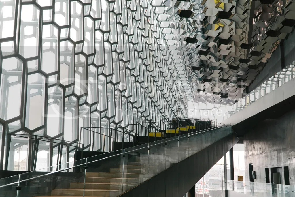 iceland ring road harpa concert hall