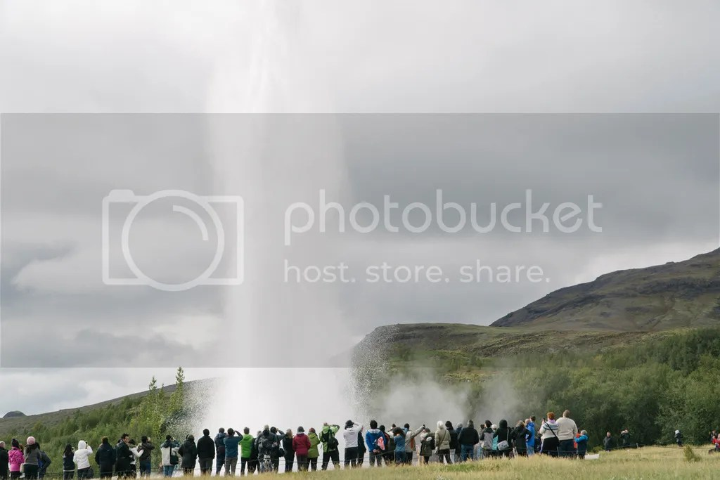 iceland ring road strokkur