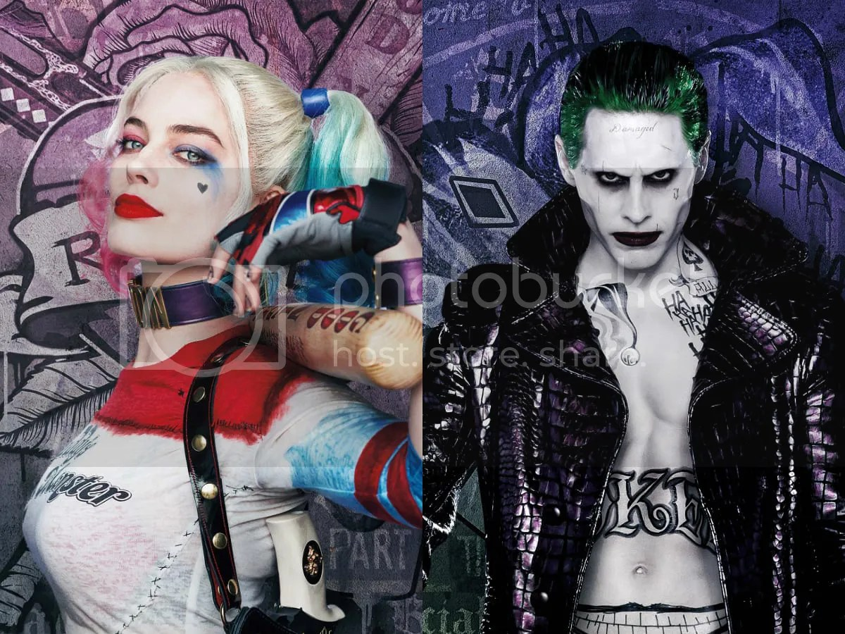 Harley Quinn And Joker Tattoos Suicide Squad