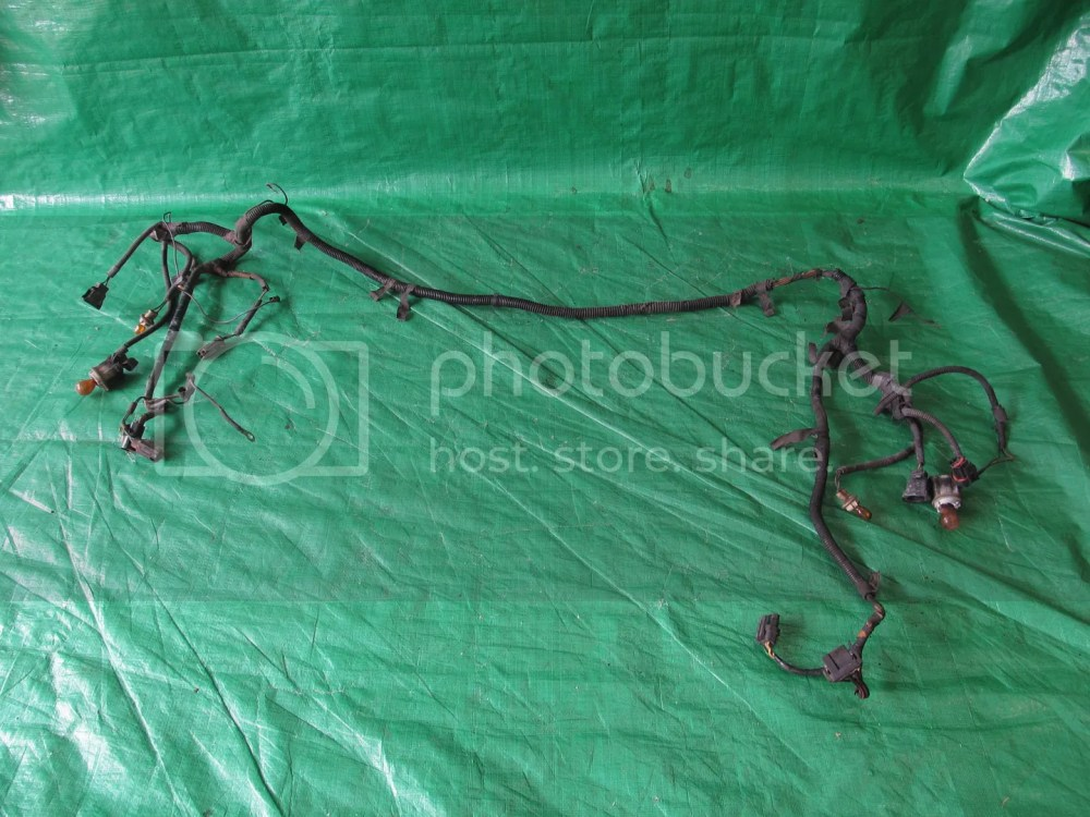 medium resolution of details about 1989 90 mustang 5 0 gt fog head light alternator wire harness sbf oem factory