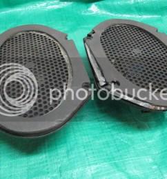 details about 87 93 mustang rear speaker 5 0 86 89 lincoln town car oem ford jbl door speaker [ 1024 x 768 Pixel ]