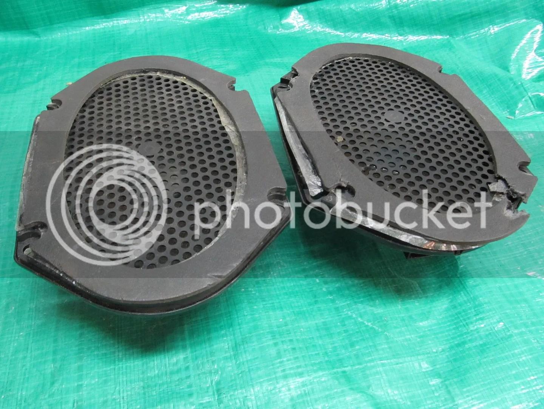 hight resolution of details about 87 93 mustang rear speaker 5 0 86 89 lincoln town car oem ford jbl door speaker