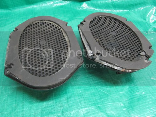 small resolution of details about 87 93 mustang rear speaker 5 0 86 89 lincoln town car oem ford jbl door speaker