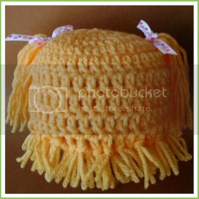 I was commissioned to make another cabbage patch doll hat 2765388d802