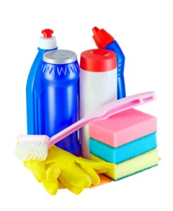 May household cleaners contain bleach