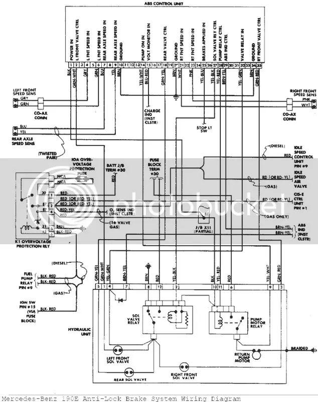 wiring diagram mercedes benz w126