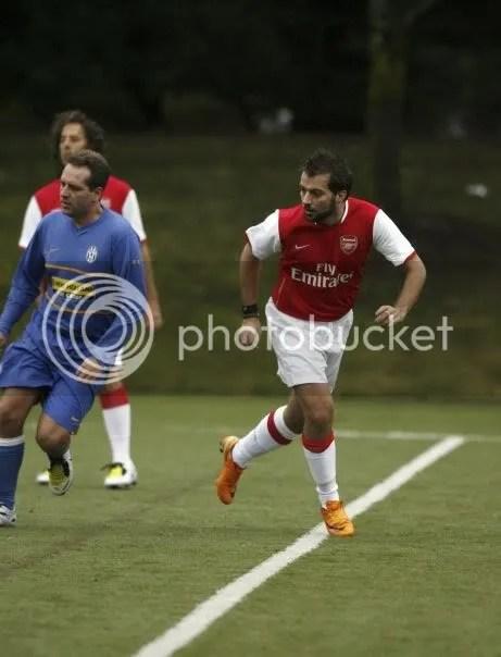 El dia que fui Thierry Henry. Que pinta, eh?
