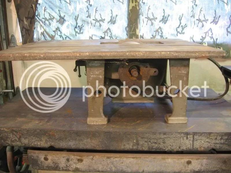 Boice Crane Bandsaw