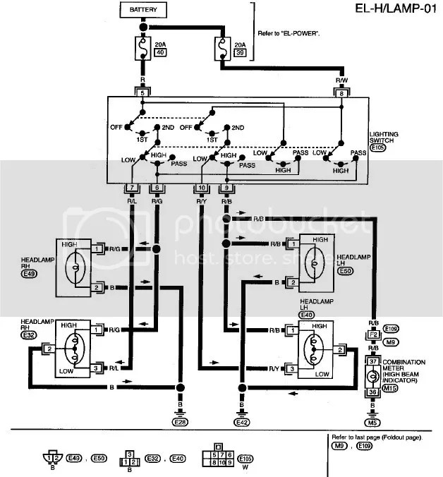 2006 Nissan Altima Headlight Wiring Diagram, 2006, Get