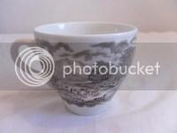 "English Ironstone Tableware ""Castles"" Tea Cup & Saucer Set ..."