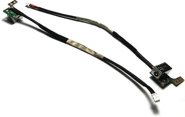 DC Power Jack Socket & Cable Wire DW147 HP PAVILION DV9400