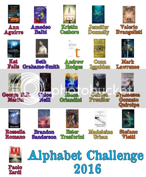 Alphabet Challenge 2016