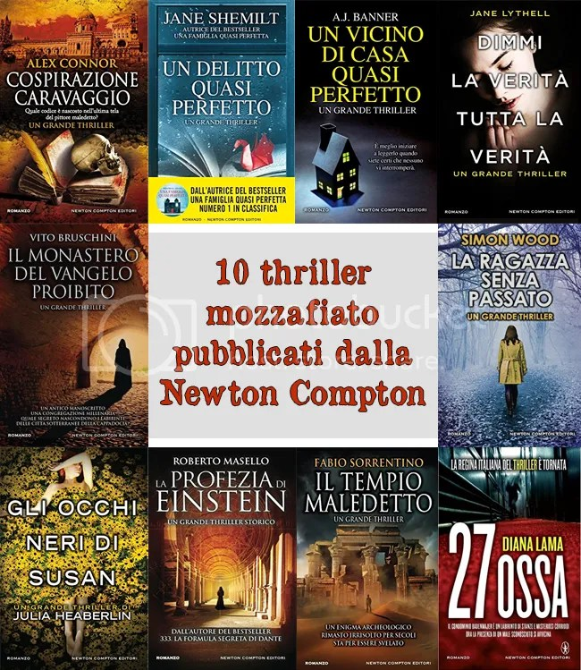 10 thriller della Newton Compton