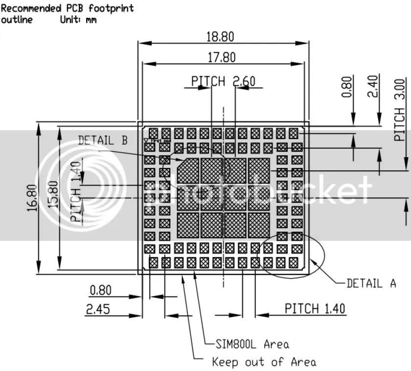 Módulo GSM/GPRS SIM800L