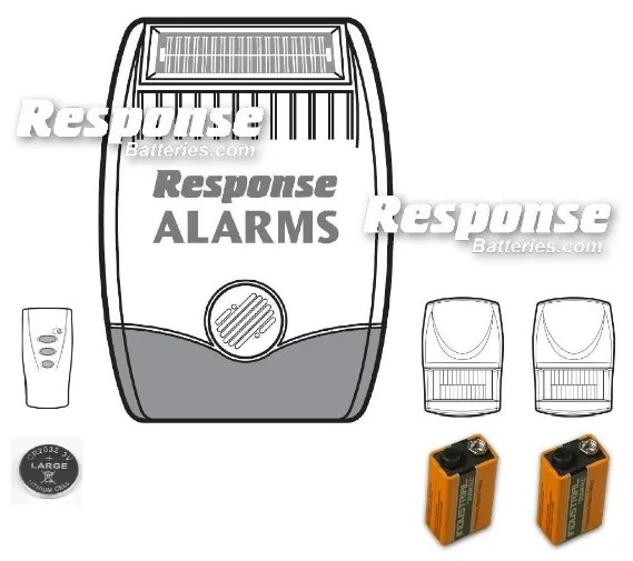 Response Alarms SA1 Replacement Response Alarm Detector