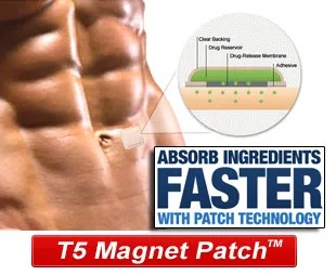 T5 Fat Burners Patch Abs