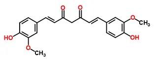 Pure Turmeric Curcumin Chemical Molecule
