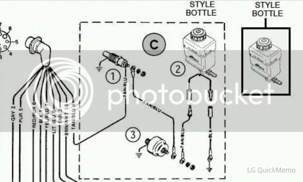 Alarm buzzer Bayliner 245 Mercruiser 5L-gctid610652