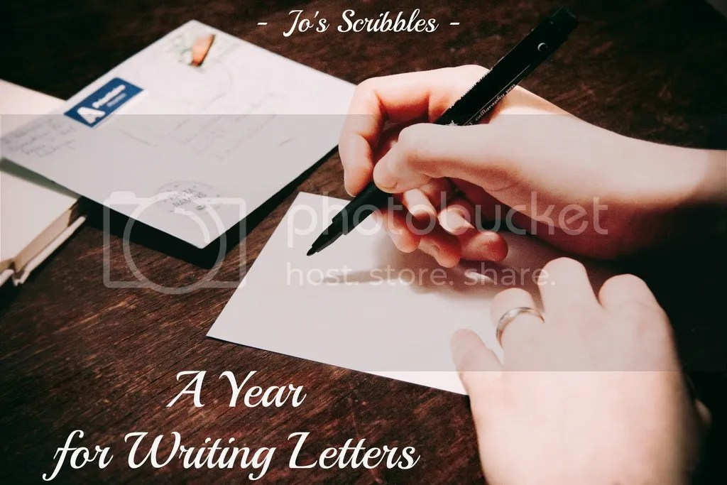A Year for Writing Letters