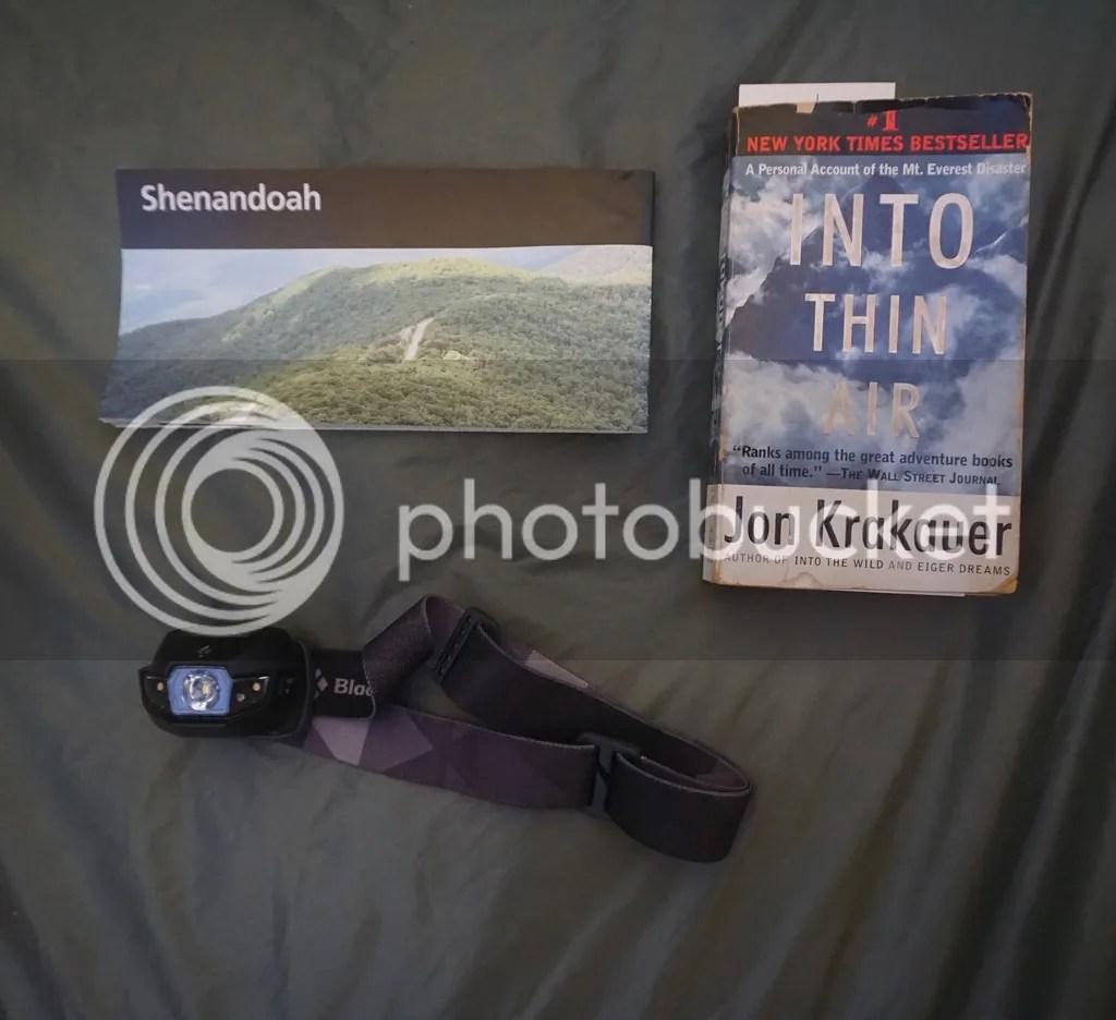 Solo Camping Shenandoah