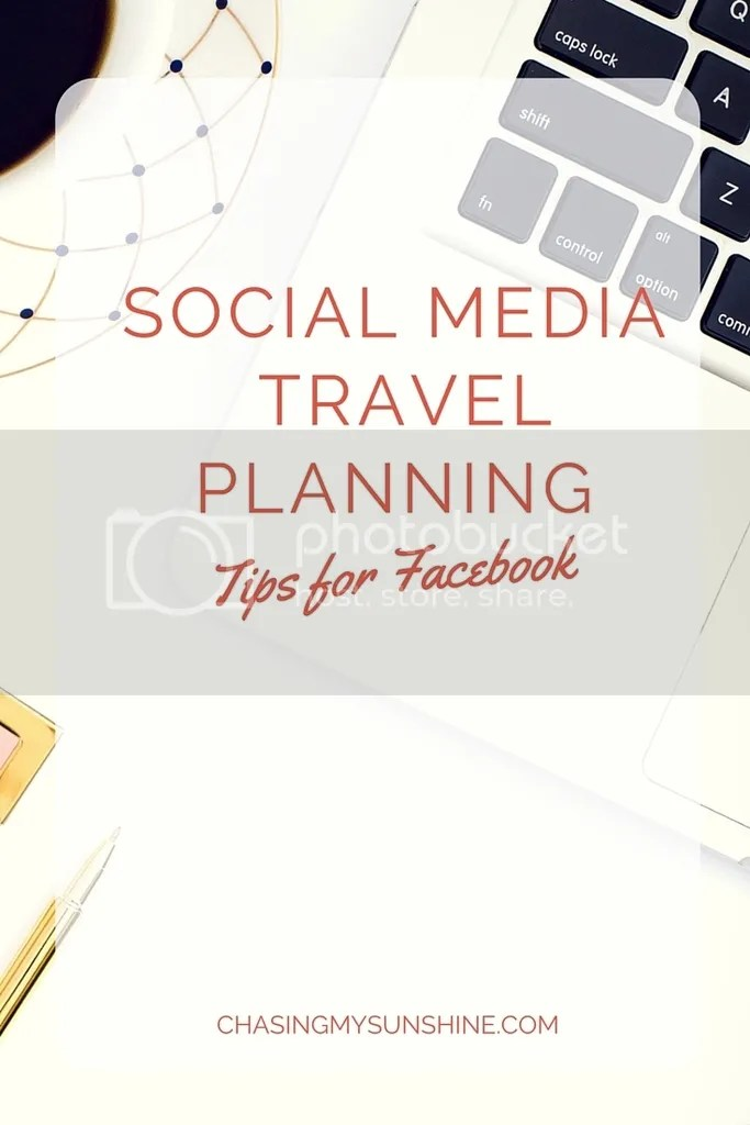 4 Tips to make Facebook Travel Planning doable and fun. Pin this one to you travel planning boards, click through, and give 'em a try.