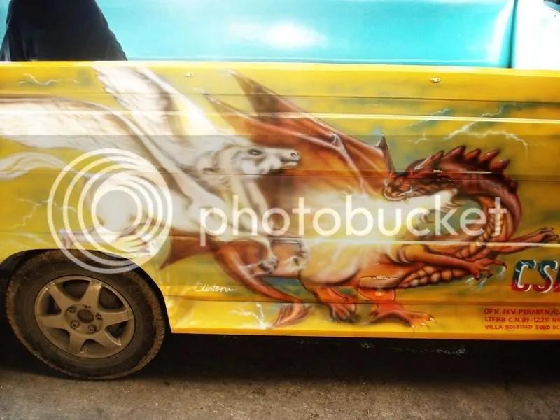 OMG ! jeepney art!  AWESOME!