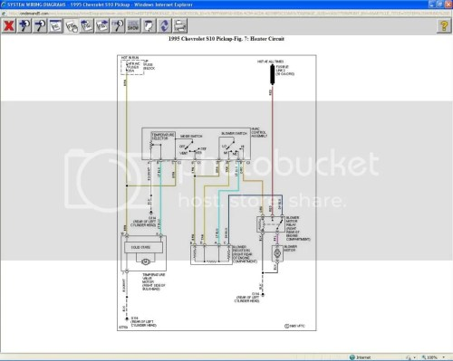 small resolution of s10 blower motor wiring wire center u2022 rh protetto co 1988 chevy s10 blazer electrical diagram