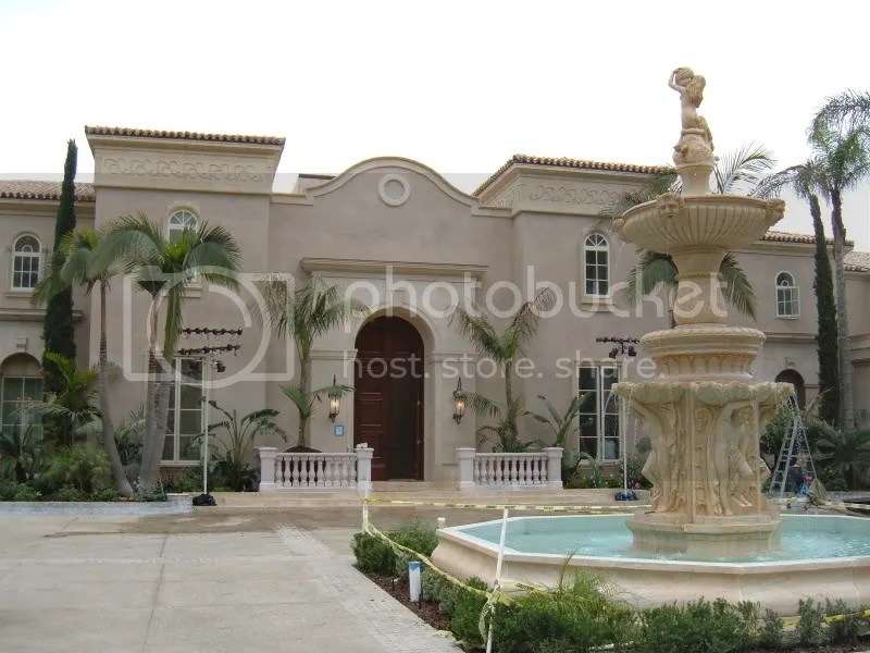 The Courtyard and Front Door