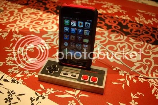 NES Controller Dock