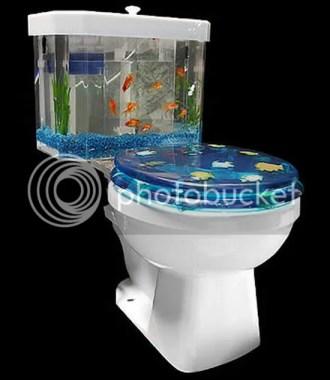 The Aquarium Toilet design