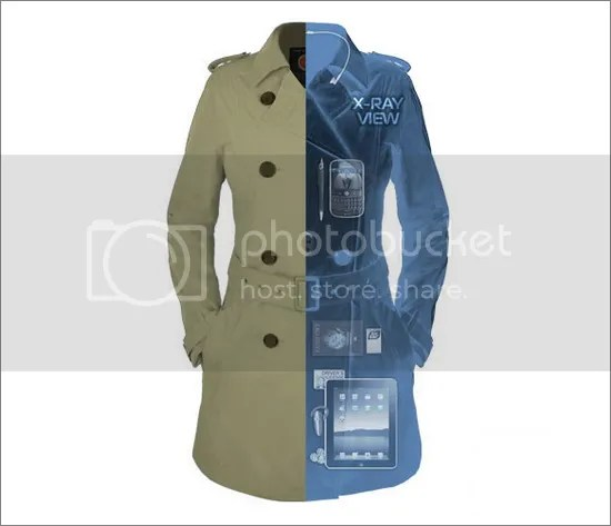 Women's Travel Trenchcoat