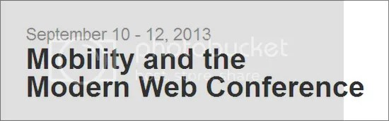 Mobility and the Modern Web Conference