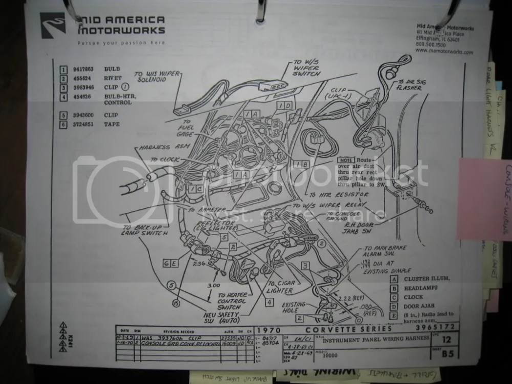 medium resolution of 1969 corvette dash wiring diagram