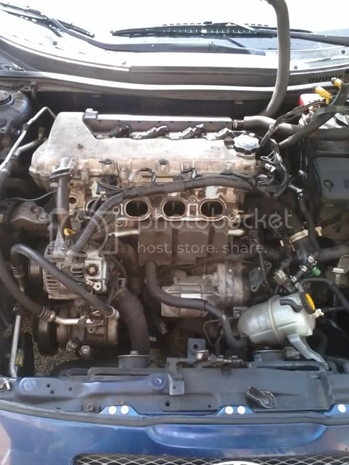 small resolution of hi guys i have few pic the installation of the obx img on my 03 gts intake manifold removal is very easy here i will share some pic