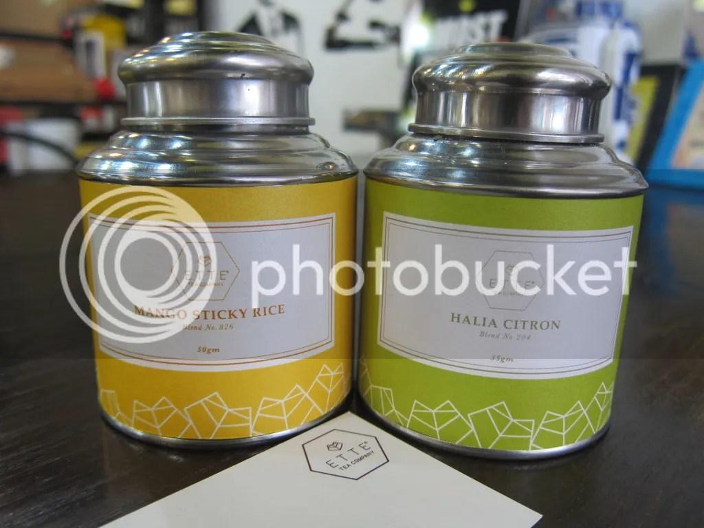 Ette Tea Mango Sticky Rice & Halia Citron
