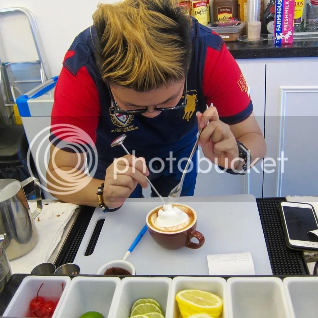 Atmosphere Cafe & Bistro Latte Artist