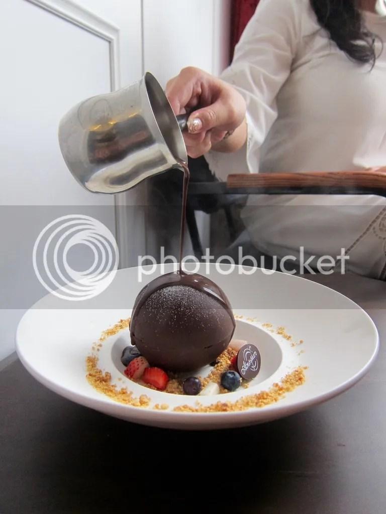 Atmosphere Cafe & Bistro Black Pearl (Chocolate Bomb)