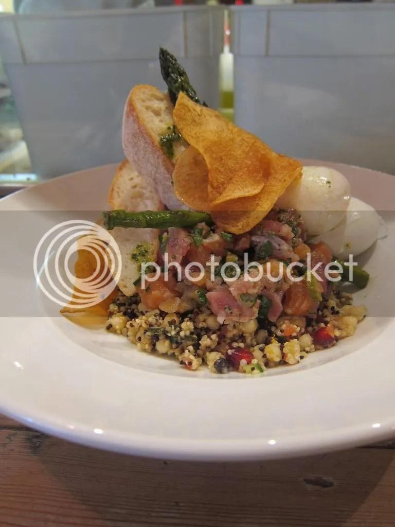Hardware Societe daily special tuna salmon tartare